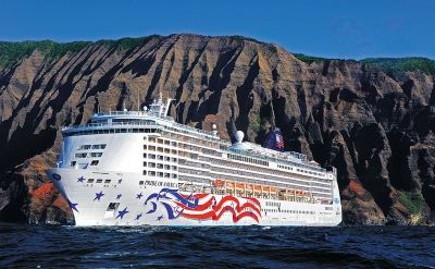 Hawaiian cruise ship